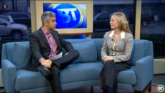 Colleen Hardwick and Riaz Meghji on Breakfast TV Vancouver