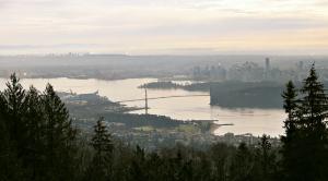 Birds-eye view of the Metro Vancouver