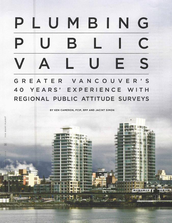 Plumbing Public Values